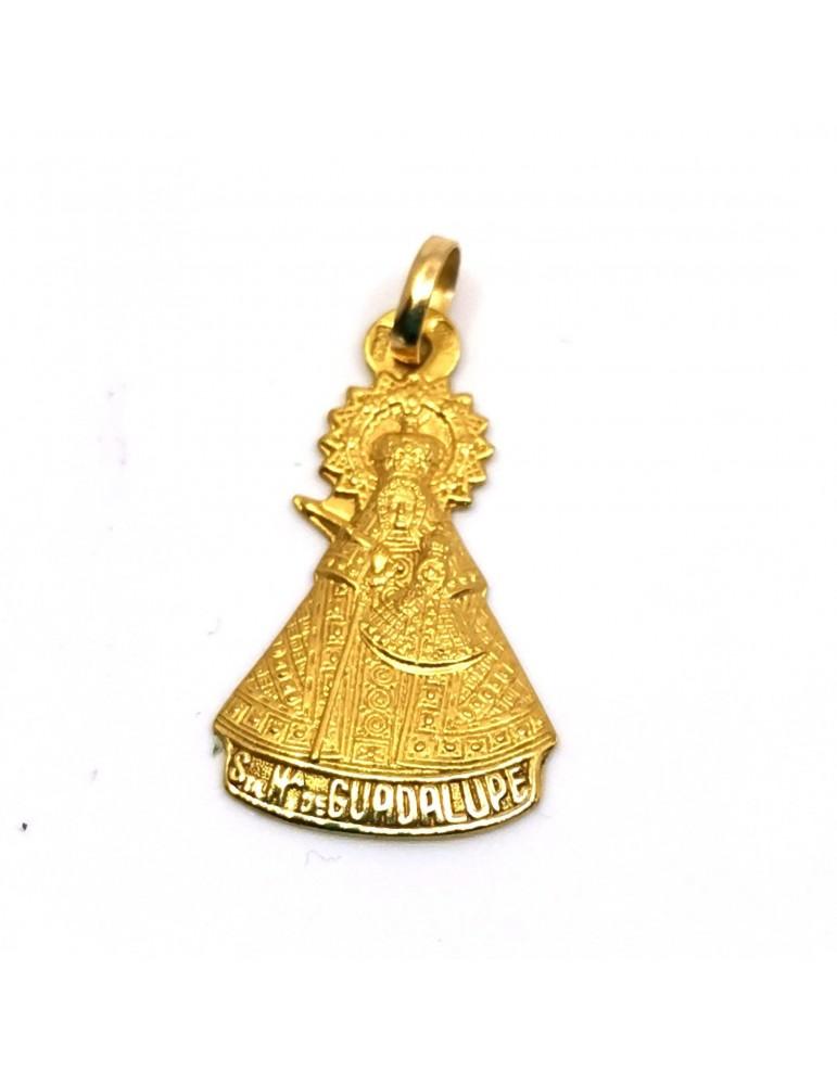 Medalla Virgen Guadalupe en oro de 18k